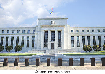 Federal Reserve building in Washington, DC - The Federal...
