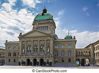 federal, suiza, berna, palacio