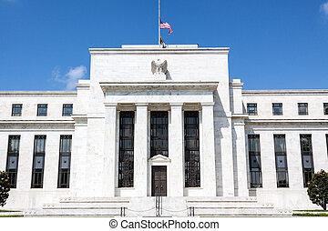 federal, washington, reserva, d, banco