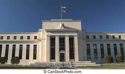 federalny, waszyngton dc, bank, zapas