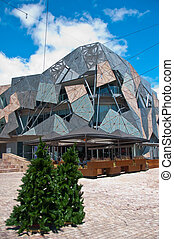 Federation Square, Melbourne,Australia - A popular...
