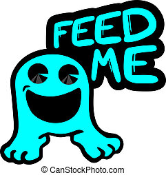 Feed me - Creative design of feed me