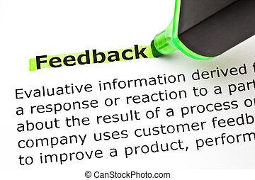 feedback, definition