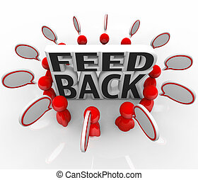 Feedback People Talking Input Survey Focus Group