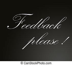 Feedback please