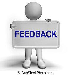 feedback, segno, mostra, opinione, valutazione, e, esami