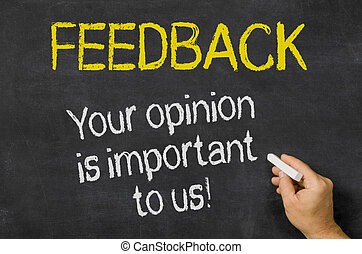 Feedback - Your opinion is important to us