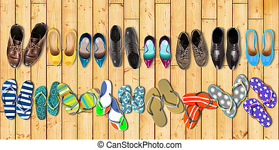 feestdagen, zomer, schoentjes