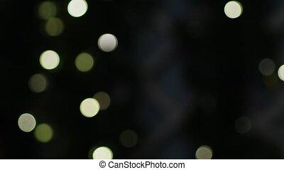 feestelijk, of, lichten, jaar, nieuw, kerstmis