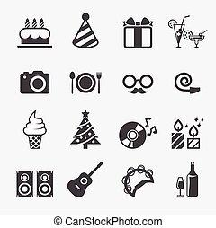 feestje, 2, pictogram