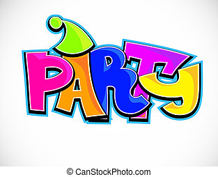 feestje, achtergrond