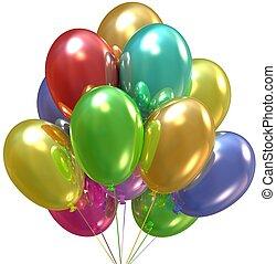 feestje, balloons.