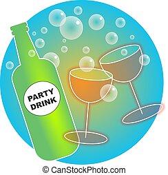 feestje, dranken
