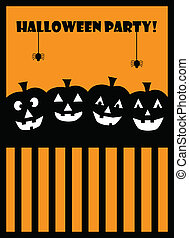 feestje, halloween
