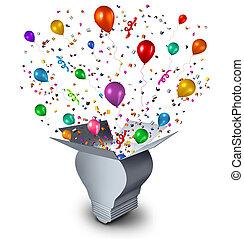 feestje, ideeën