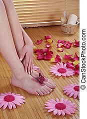 feet at spa
