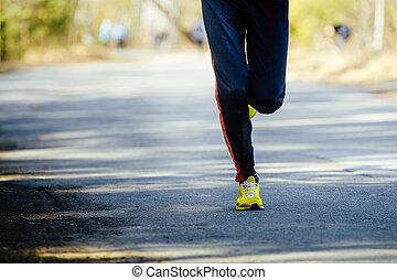 feet athlete runner