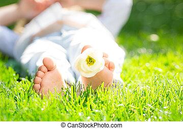 feet, children`s
