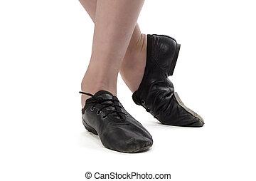 feet, fotografia, panieński, tancerz