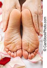 feet, masaż