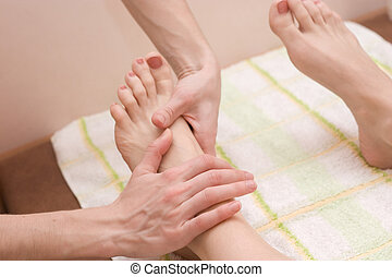 feet massage