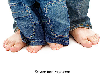 feet, ojciec, syn