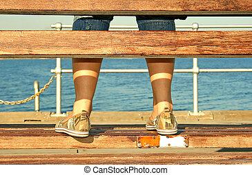 feet, panieński