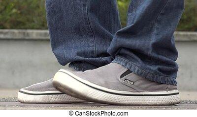 Feet, Shoes of Dancing Man
