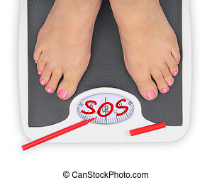 feet, ubikacja czyszczą z łusek, woman', s