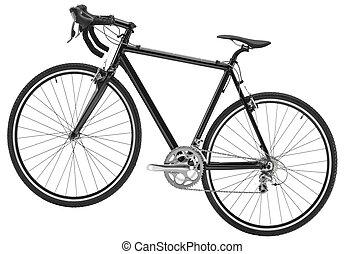 fehér, bicikli, háttér