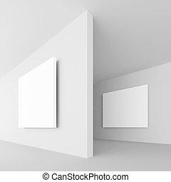 fehér, elvont, építészet