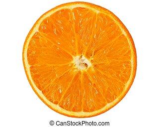 fehér, fél, narancs