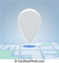 fehér, navigáció, jelkép, mutat