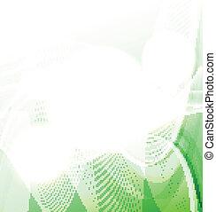 fehér, zöld háttér, lenget