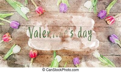 feier, tag, valentines