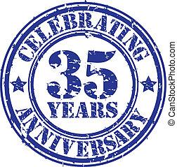 feiern, jahre, gr, 35, jubiläum