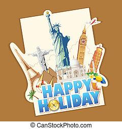 feiertag, glücklich