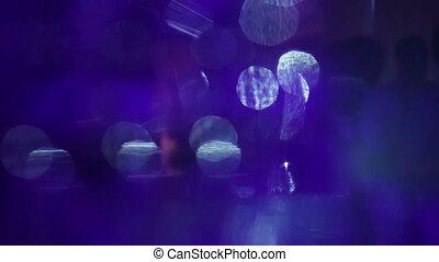 feiertag, verwischt, abstrakt, bewegung, hintergrund, bokeh., graue , farbe, bokeh, defocused, kreise, blur., fallender , kreis, weißes, lights., fireworks.