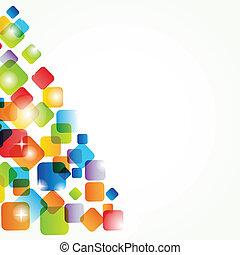feiertag, weihnachtskarte, elements.