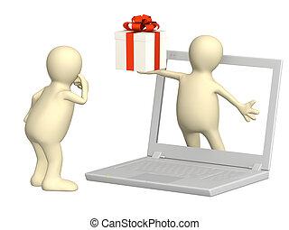 feitelijk, cadeau
