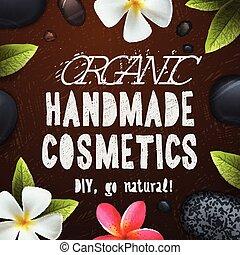 feito à mão, orgânica, cosméticos