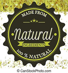 feito, natural, ingredientes