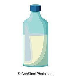 fej palack, elszigetelt