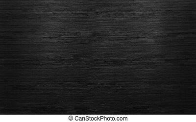 fekete, fényesített, alumínium, háttér