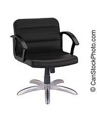 fekete, hivatal szék, elszigetelt