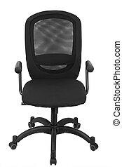 fekete, hivatal szék