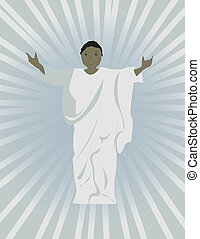fekete, jézus