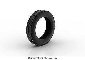 fekete, kerék