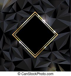 fekete, transzparens, háttér, arany-