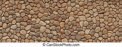feld, steinmauer